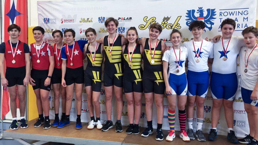 30. Indoor Meisterschaften 2019 | Siegerehrung Team Bewerb Schüler