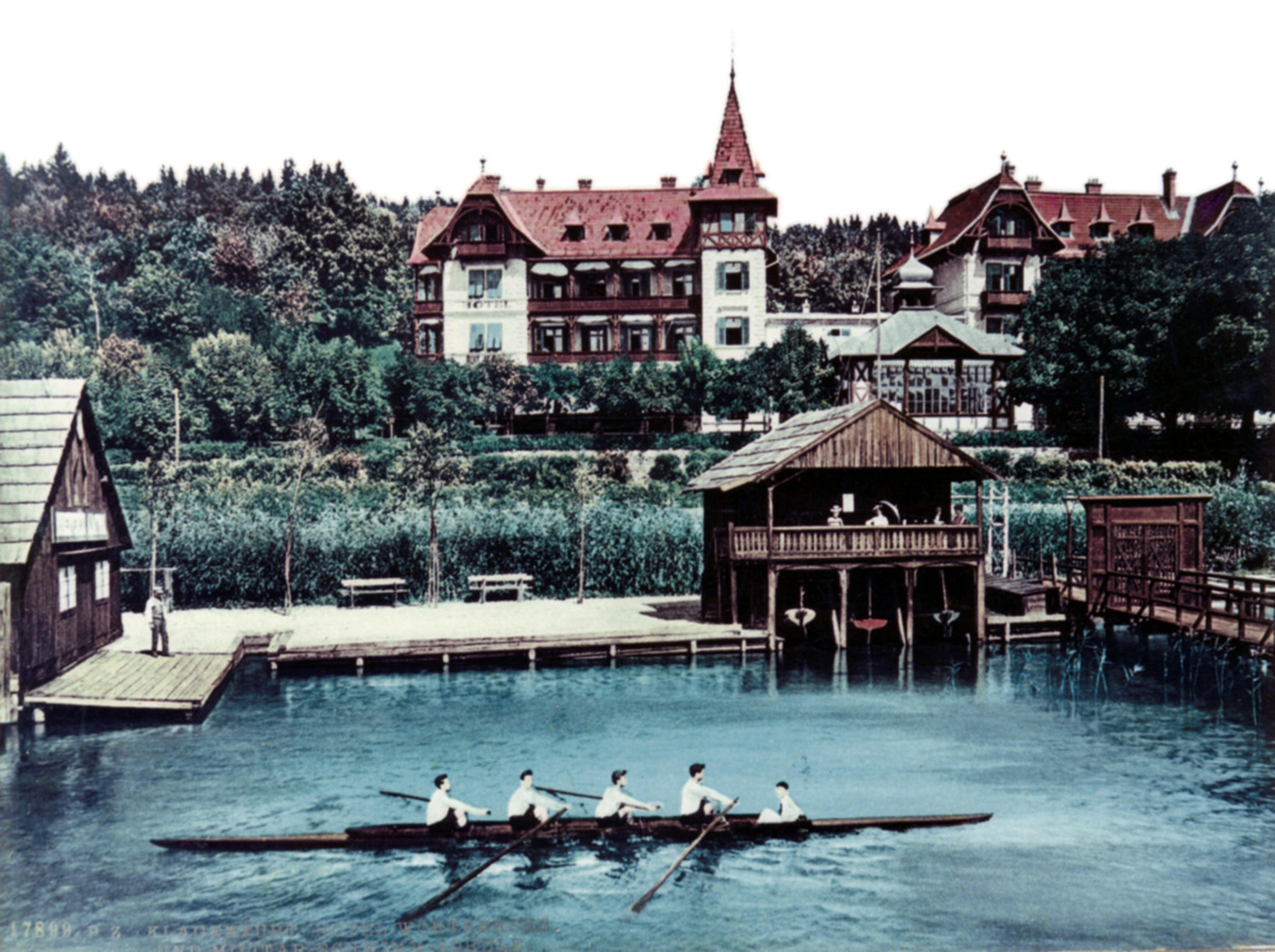 RV-Albatros | erstes Bootshaus mit sogenannter Villa | 1885
