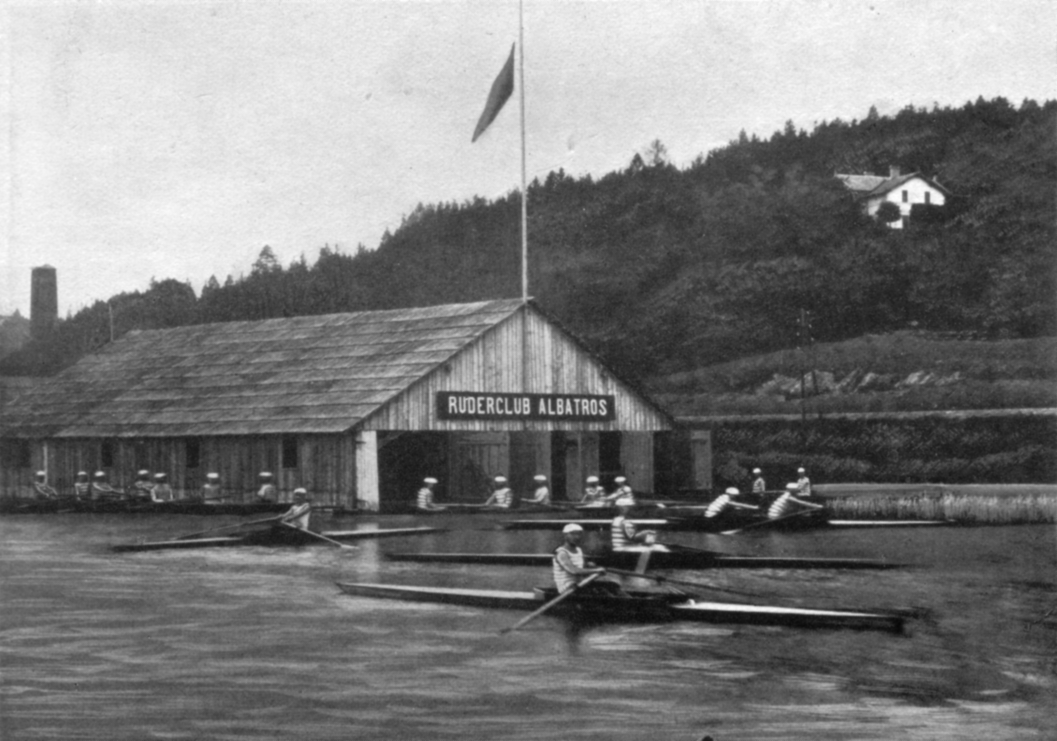 RV-Albatros | erstes Bootshaus | 1882