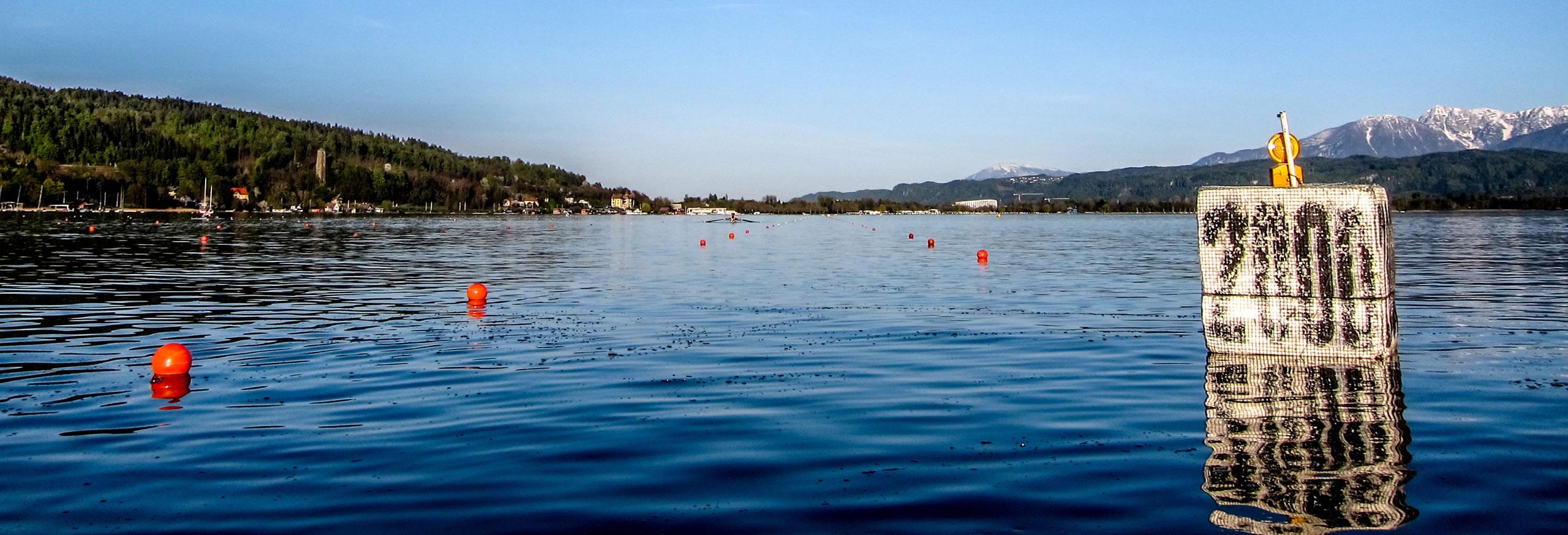 84. Kärntner Ruderregatta - Start 2000 m